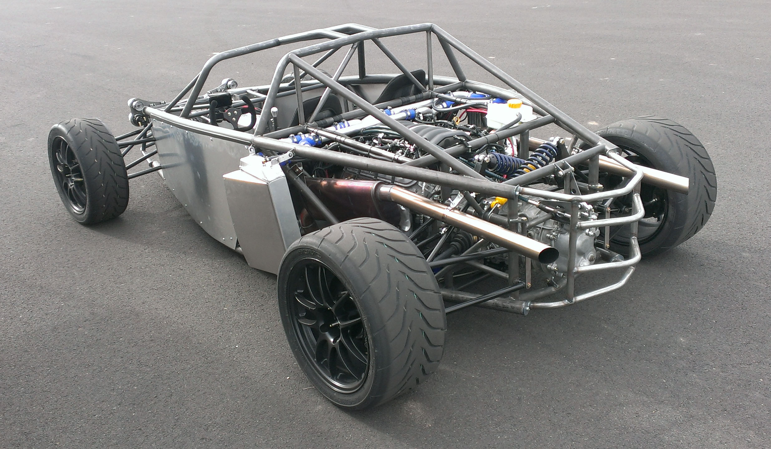 Early D2 prototype chassis
